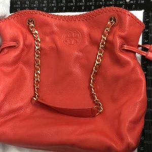 Tory Burch SLOUCH spiced coral bag